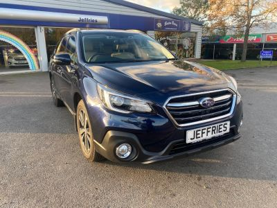 Subaru Outback 2.5i SE Premium 5dr Lineartronic Estate Petrol Blue at Jeffries of Bacton  Stowmarket
