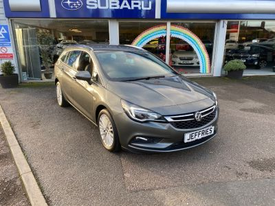 Vauxhall Astra 1.4T 16V 150 Elite 5dr Auto Estate Petrol Grey at Jeffries of Bacton  Stowmarket