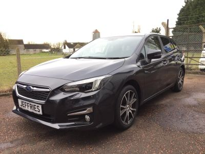 Subaru Impreza 1.6i SE 5dr Lineartronic Hatchback Petrol Dark Grey Metallic at Jeffries of Bacton  Stowmarket