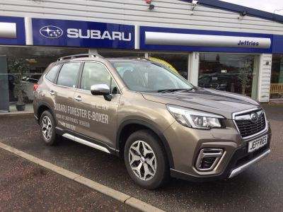 Subaru Forester 2.0i e-Boxer XE 5dr Lineartronic Estate Petrol / Electric Hybrid Gold at Jeffries of Bacton  Stowmarket