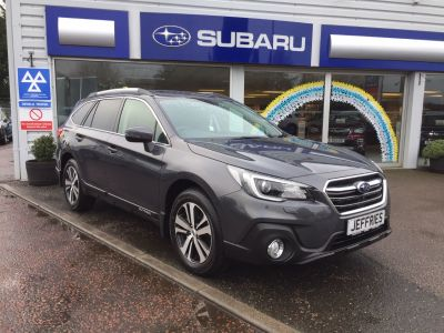 Subaru Outback 2.5i SE Premium 5dr Lineartronic Estate Petrol Magnetite Grey at Jeffries of Bacton  Stowmarket