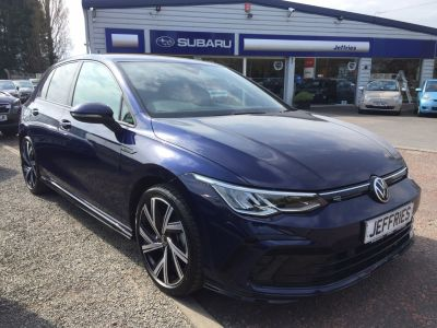 Volkswagen Golf 1.5 TSI 150 R-Line 5dr Hatchback Petrol Blue at Jeffries of Bacton  Stowmarket
